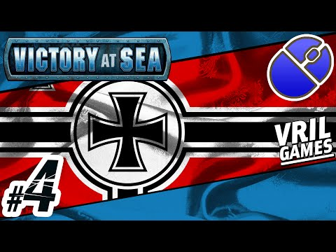 Let's Play Victory at Sea | Kriegsmarine ✠ | Atlantic Campaign #4