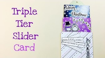 Triple Tier Slider Card [tutorial | deutsch]