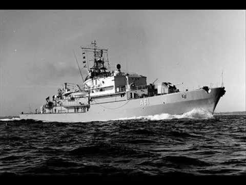 1960 ELBE Federal German Navy Logistical Support Ship History Facts
