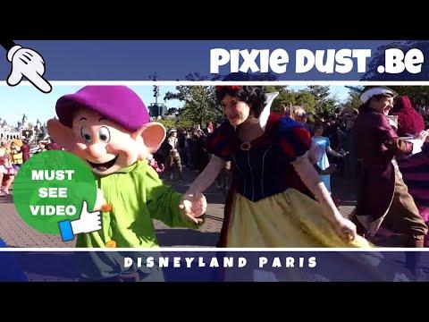 Opening Show 12 April '17 + morning rush Grand Celebration Day 25th Anniversary Disneyland Paris   H