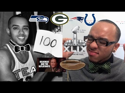 TEA: 2015 NFL PLAYOFFS RECAP NFC Championship Packers vs Seahawks, Patriots CHEATING!