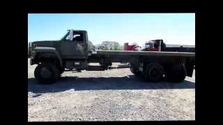1989 ford f800 flatbed truck for sale   sold at auction may 31 2013