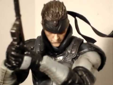 Metal Gear Solid Play Arts Kai Solid Snake Review