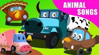 звуковая песня животных | детские рифмы | узнавать имена животных | Kids Learn | Animal Sound Song