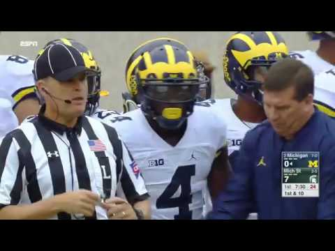 #2 Michigan Wolverines @ Michigan State Spartans (October 29, 2016)