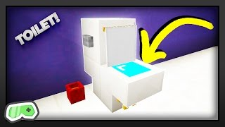 Minecraft - How To Make A Toilet