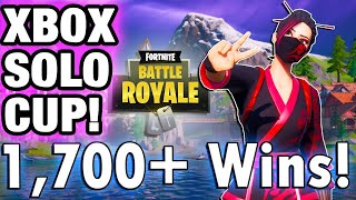 SOLO PLATFORM CASH CUP XBOX PS4 Week 6! | 1,700+ Wins | Fortnite