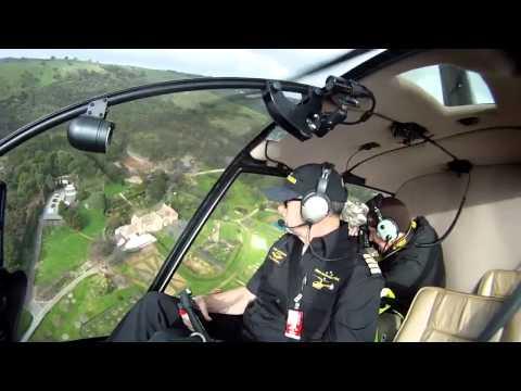 Air Work over Adelaide CBD