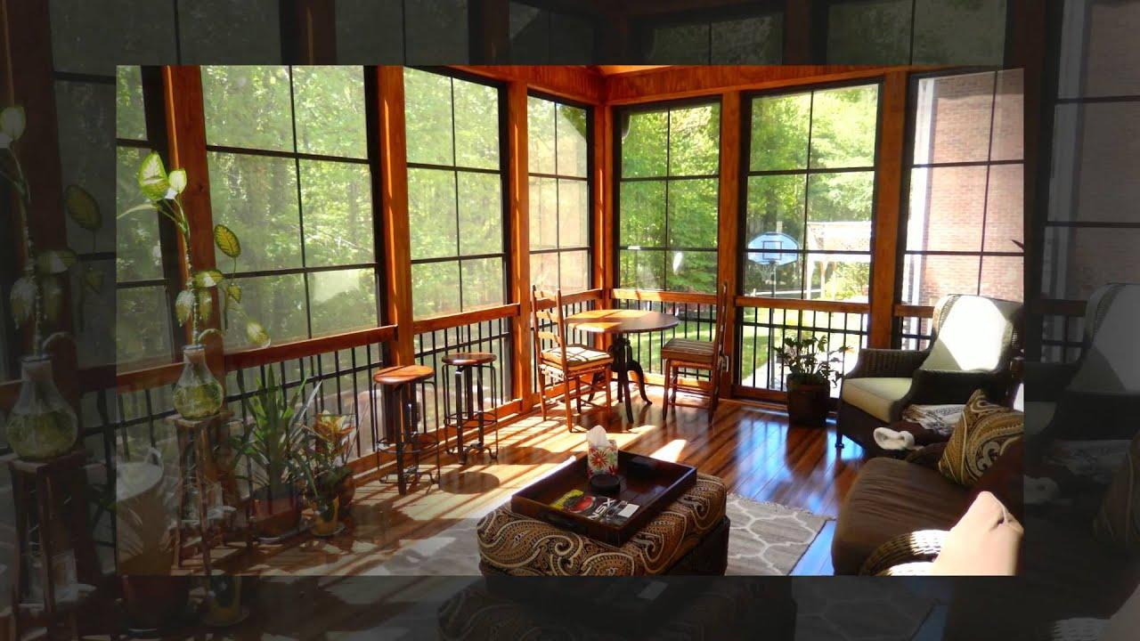 Transform Your Raleigh Porch To A 3 Season Room With Eze Breeze Windows