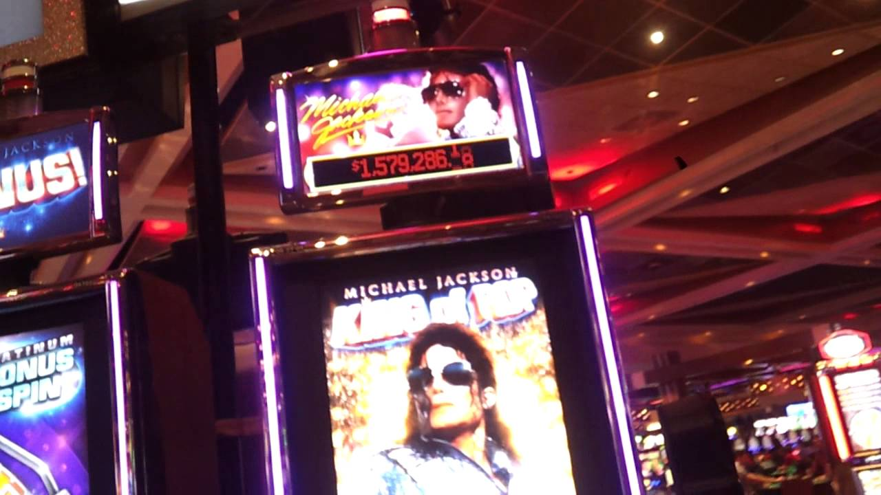 Michael Jackson Slot Machine Vegas