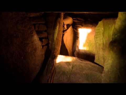 Equinox Illumination of Prehistoric Art at Loughcrew, County Meath, March 2015