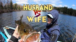 I Took My Wife Fishing!! She Whoops Me!