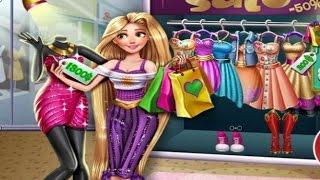 5cac210fd العاب بنات تسوق مع ربانزل الجميلة في المول - العاب ربانزل - Rapunzel games  - Girls