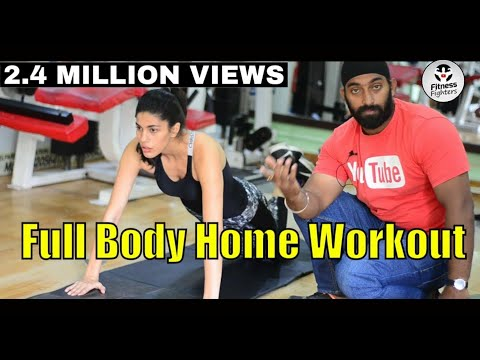 No Gym Full Body Workout For Women in Hindi | Big Boss 13 Asim Riaz's Friend Ft.Shruti Tuli