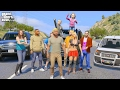GTA 5 REAL LIFE MOD #257 FAMILY ROAD TRIP!