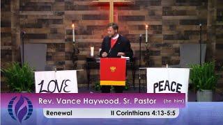 6/6/2021 Sunday Morning Worship at St. John's MCC