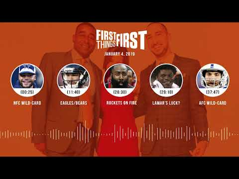 First Things First audio podcast(1.4.19)Cris Carter, Nick Wright, Jenna Wolfe | FIRST THINGS FIRST
