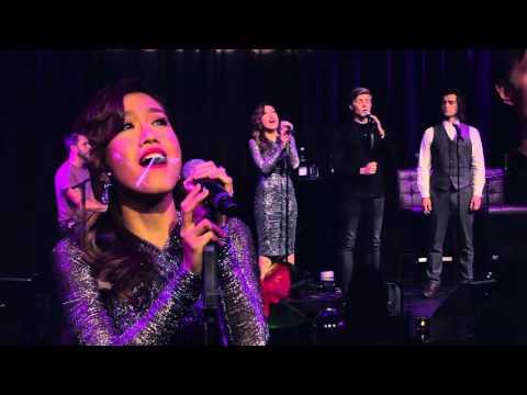 Rachelle Ann Go, Bradley Jaden & Rob Houchen sing 'Always' at The Hippodrome.