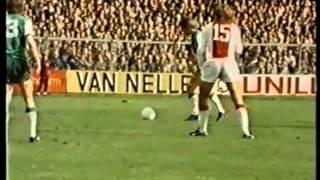 EREDIVISIE 1973/1974 - A.F.C AJAX - FEYENOORD ROTTERDAM  2:1
