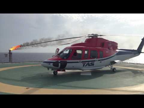Thai Aviation Services + CHC  Thailand Helicopter Offshore ops