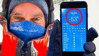 Muzların Çekice Dönüştüğü -53°C'de Yaşamak Nasıl Bir Şey?