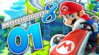 ONLINE CHAOS MIT ISA UND MALTE! 🌟 #01 • Let's Play Mario Kart 8 Online