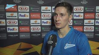 Далер Кузяев на «Зенит-ТВ»: «Пропущенный мяч нас надломил, но мы показали характер»