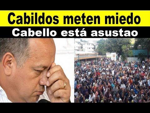 Cabildos de Guaidó, meten miedo a Cabello