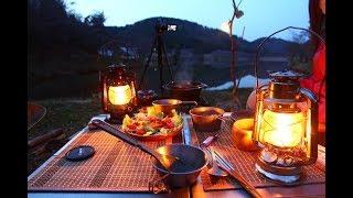 久しぶりの夫婦キャンプ② ダッチオーブンで料理