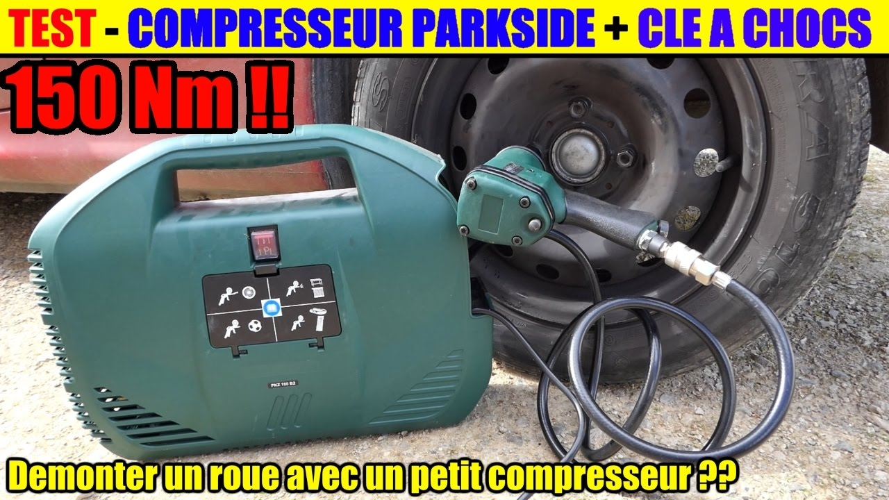 Test compresseur lidl parkside pkz 180 cl chocs pneumatique pdss 310 demonter un pneu youtube - Compresseur portatif lidl ...