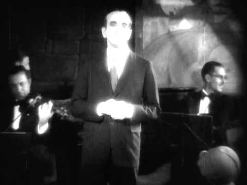 Al Jolson sings in the 1st-ever Talkie