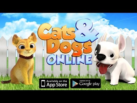 Cats and Dogs Online - iOS and Android OUT NOW!
