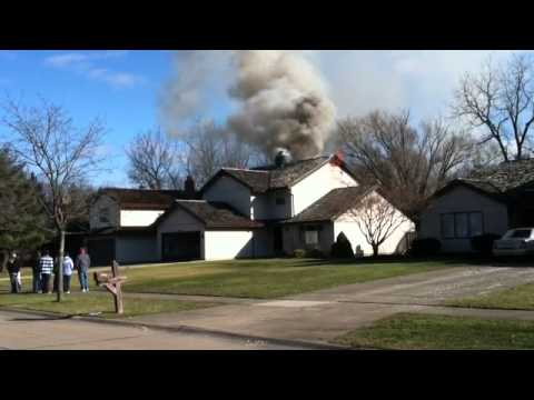Fire In North Olmsted, Ohio