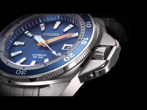 Citizen Signature Grand Touring Sport Automatic Watch Overview
