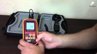 Anemometr nowy sprzęt do testowania wentylatorów