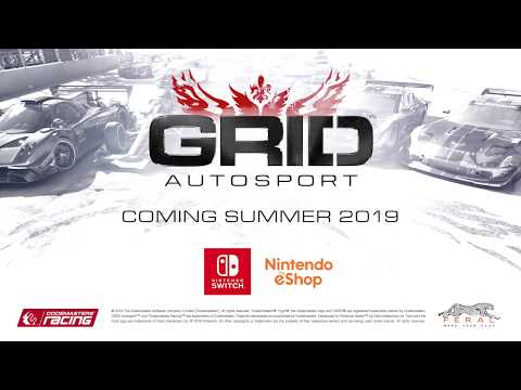 Handle the power… Controls in GRID Autosport for Nintendo