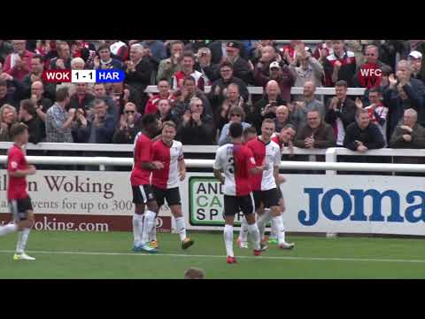 Woking 1 - 1 Hartlepool United (Match Highlights)