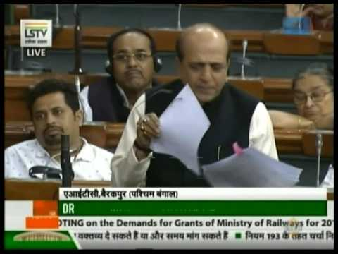 Dinesh Trivedi speaks on Demands for Grants of Ministry of Railways for 2017-18