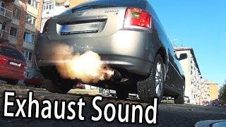 Toyota Corolla TS - Exhaust Sound Reving