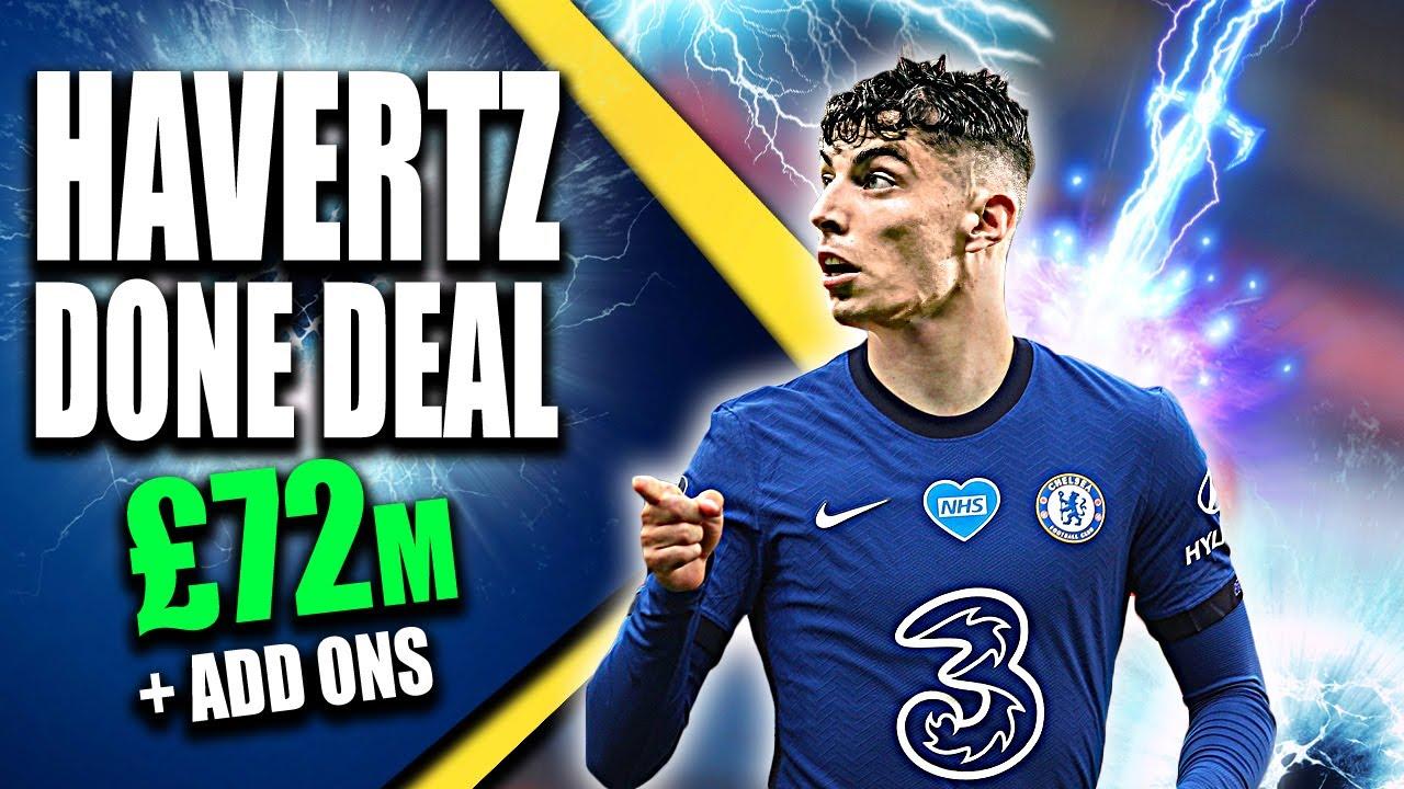 Breaking Chelsea Agree Kai Havertz Record Transfer With Bayer Leverkusen Here We Go Youtube