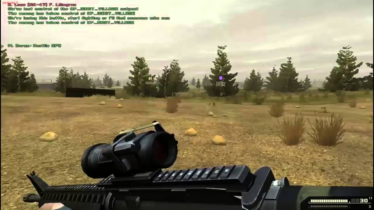 Another Battlefield 2 Combat Mod Gameplay Youtube