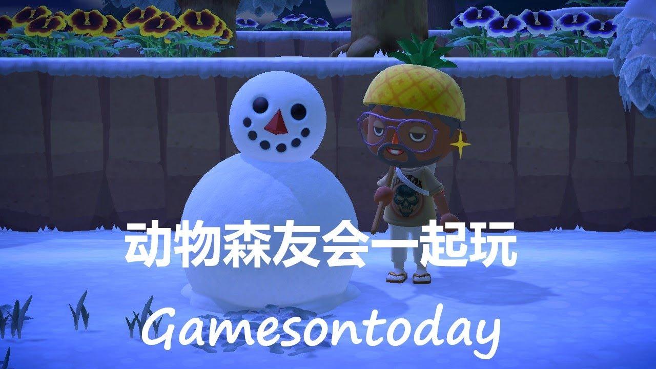 动物森友会一起玩Gamesontoday