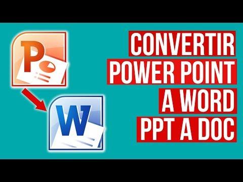 como-convertir-powerpoint-a-word-sin-programas