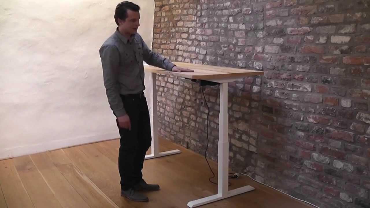 Bureau zit sta bureau frame s worktrainer youtube