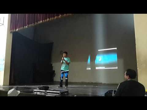 Guido Encinas en la Expo Arcadia - Karaoke