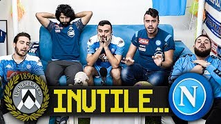 INUTILE... UDINESE 1-1 NAPOLI | LIVE REACTION NAPOLETANI HD