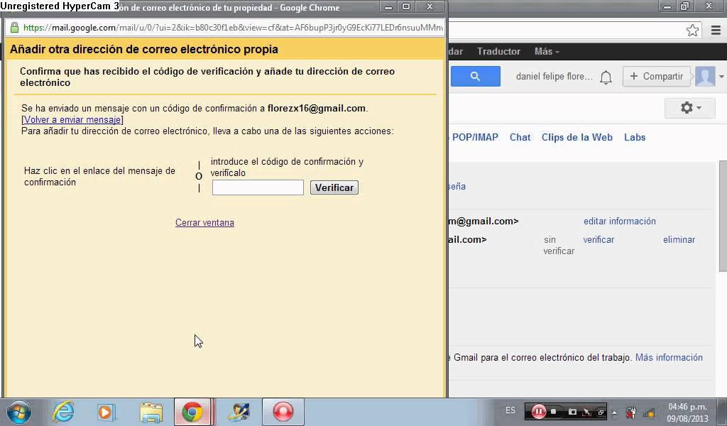 Tutorial Como Enlazar Dos Correos De Gmail Youtube