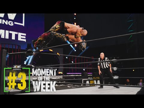 TRIOS ACTION The Young Bucks and Cutler vs Lucha Brothers and Laredo Kid | AEW Dynamite, 3/24/21