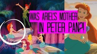 IS ARIEL'S MOTHER IN PETER PAN?? - PETER PAN / LITTLE MERMAID THEORY - ANNALISE WOOD