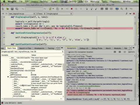 Wing IDE Pro v5 Feature Overview